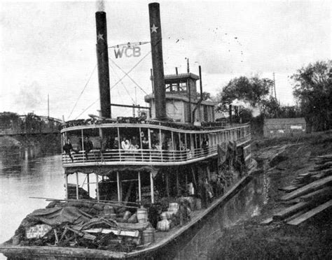 Boat Moorings Georges River by Florida Memory Steamboat Quot W C Bradley Quot At A Landing On