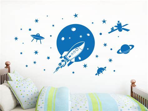 Wandtattoo Kinderzimmer Planeten by Wandtattoo Weltraum Klebeheld De