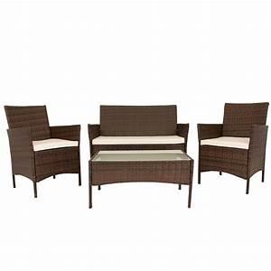 Gartenmöbel Polyrattan Lounge : polyrattan gartenm bel poly rattan lounge gartenset sitzgruppe garnitur neu ebay ~ Indierocktalk.com Haus und Dekorationen