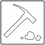Rock Outline Clipart Geology Collecting Hammer Geologist Rocks Clip Pile Cliparts Clipartmag Library Etc Clipground sketch template