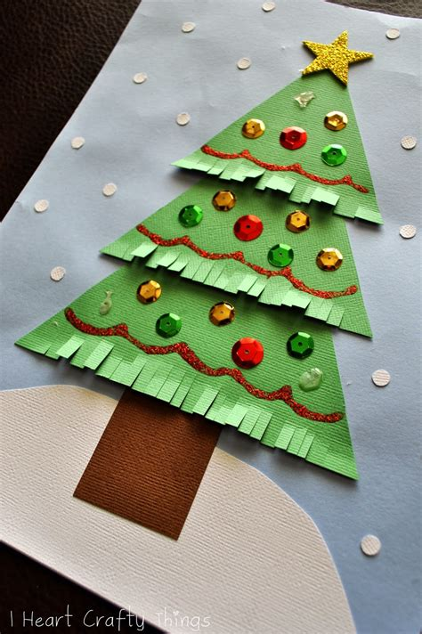 christmas projects kids christmas tree craft i heart crafty things