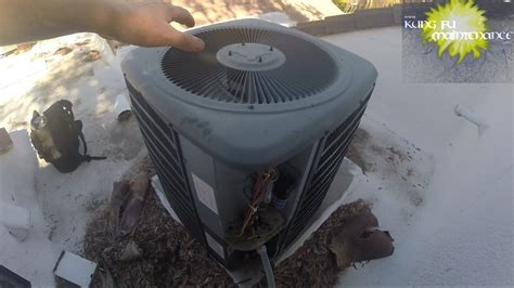 often cause of air conditioner compressor not running or starting