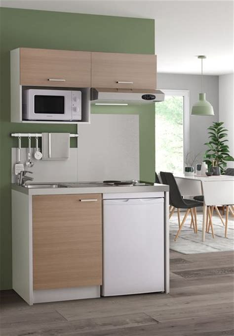 dimension meuble cuisine kitchenette 20 modèles canon côté maison