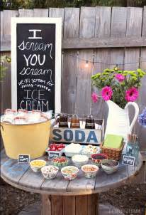 fresh backyard graduation party decorating ideas party