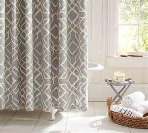 Pottery Barn Bathrooms Ideas More Modern Shower Curtain Finds For A Stylish Powder Room