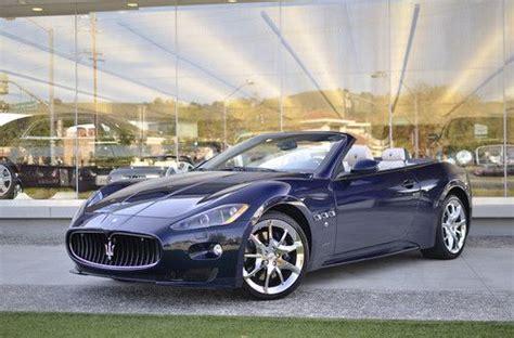 Purchase Used 2012 Maserati Granturismo Sport Convertible
