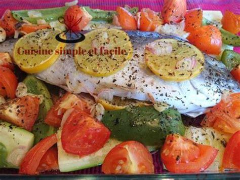 dorade cuisine recettes de dorade et légumes