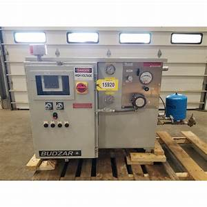 Used Budzar Industries Water Heater System