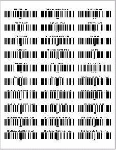 barcode label printing With avery barcode labels