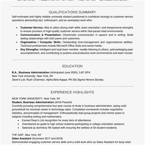 Gpa On Resume by When To Include A Gpa On Your Resume
