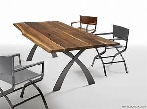 Table Salle A Manger Bois Massif Design Table A Manger