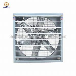 Industrial Exhaust Fan 1380mm Size For Greenhouse And ...