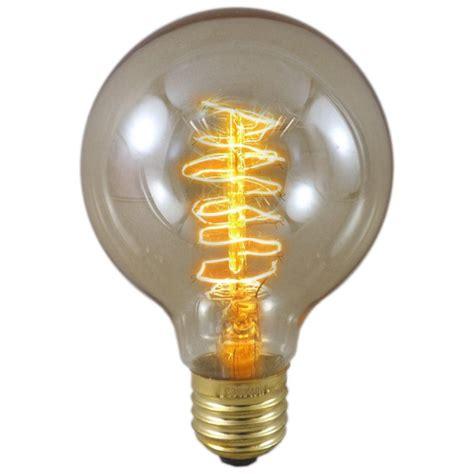 40 watt es e27 decorative rustic classic globe light bulb