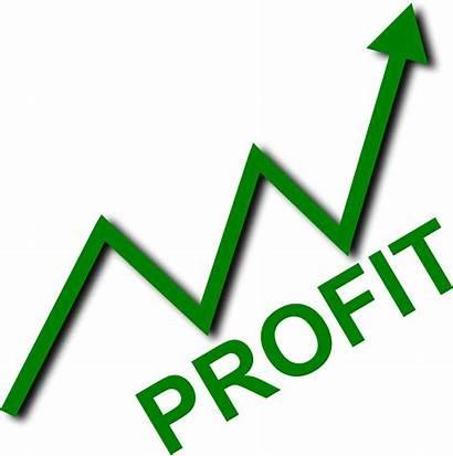 Profit Curve Clipart Sign