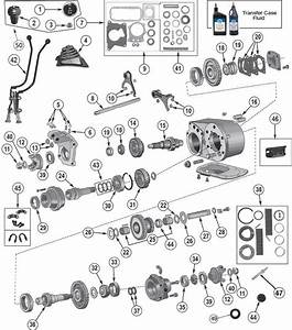 Dana 300 Transfer Case Parts For Jeep Cj U0026 39 S