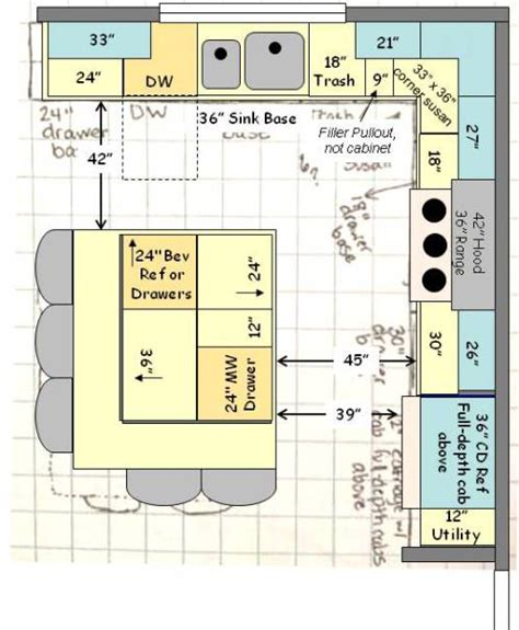 kitchen island width help with kitchen layout fresh ideas for a new build