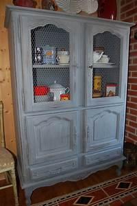 Garde Manger En Bois : garde manger vaisselier meubles pinterest ~ Teatrodelosmanantiales.com Idées de Décoration
