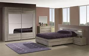Chambre à Coucher Adulte : new land meubles chambre coucher ~ Teatrodelosmanantiales.com Idées de Décoration