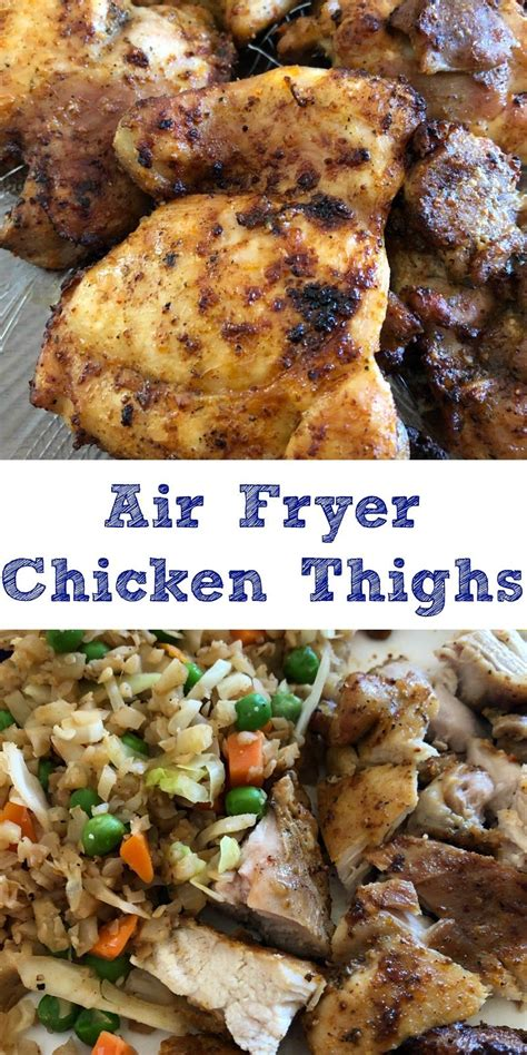 chicken thighs fryer air cook oven recipes