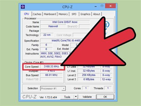 4 Ways To Check Cpu Speed