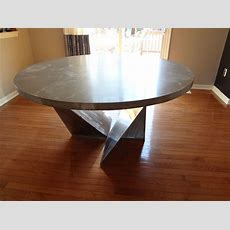 Custom Dining Room Table, Kitchen Table By Rock And A Hard