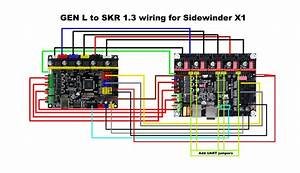 Gen L To Skr 1 3 Wiring Scheme For Sidewinder X1