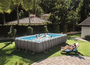 Grande Piscine Tubulaire : piscine tubulaire super achat pour les enfants et les adultes ~ Mglfilm.com Idées de Décoration