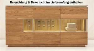 Sideboard Eiche Massiv Geölt : anrichte sideboard eiche ge lt bestellen bei yatego ~ Frokenaadalensverden.com Haus und Dekorationen