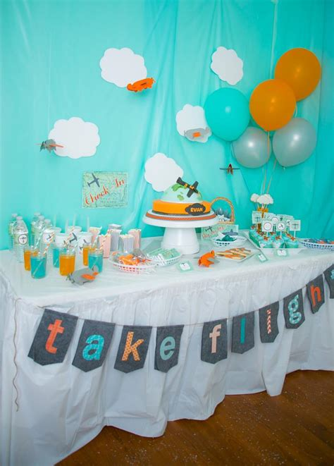 Kara's Party Ideas Airplane Themed Birthday Party Planning