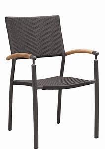 Chaise Terrasse Professionnel : chaise de terrasse avec accoudoirs torin empilable mobilier tress mobilier d 39 ext rieur ~ Teatrodelosmanantiales.com Idées de Décoration