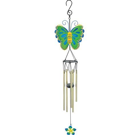 butterfly wind chimes in my garden metal butterfly wind chime weather instruments wind chimes more shop the