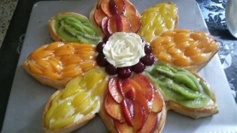 tarte pate feuillete creme patissiere tarte de fruit 224 la p 226 te feuillet 233 e recettes d 233 lices