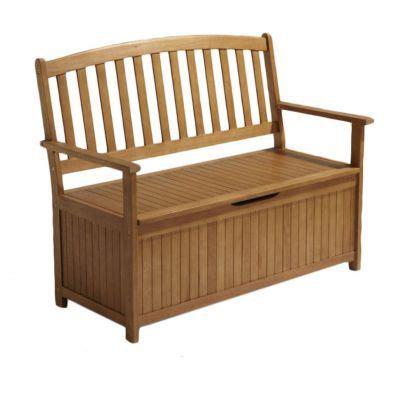 banc coffre bois banc avec coffre de jardin en bois aland castorama