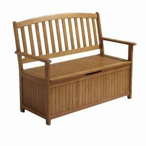 Coffre De Jardin Bois : banc avec coffre de jardin en bois aland castorama ~ Edinachiropracticcenter.com Idées de Décoration
