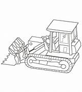 Truck Coloring Pages Trucks Bulldozer Printable Dump Construction Momjunction Ones Popular sketch template