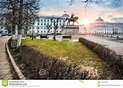 Monument To Mikhail Tverskoy In Tver Stock Image - Image ...