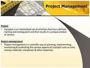 Pert  U0026 Cpm Project Management
