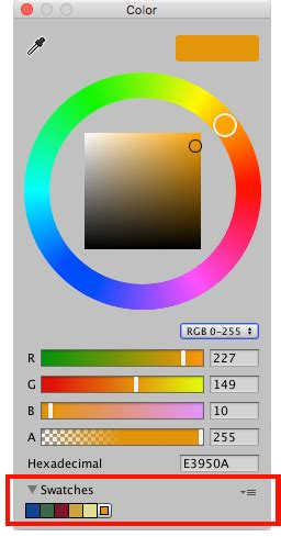unity color swatch libraries unity マニュアル