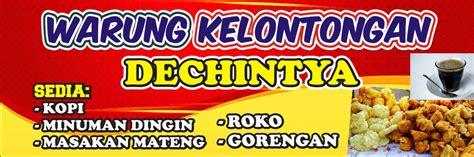 Download Spanduk Toko Kelontong cdr KARYAKU