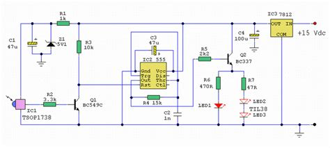 Remote Control Extender Circuit Var Electronic