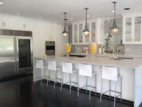 mirrored backsplash in kitchen mirrored herringbone backsplash contemporary kitchen womanista