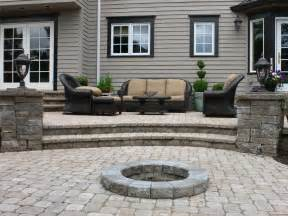 Paver Patio Steps Designs