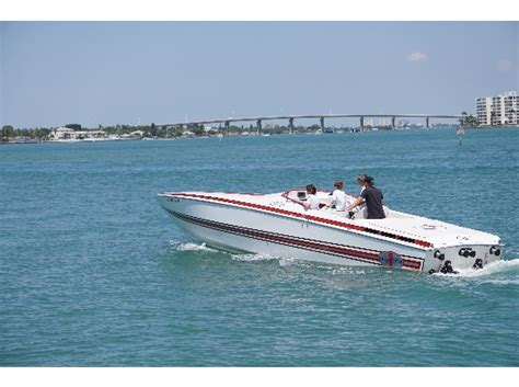 Cigarette Boat In Rough Water by Cigarette 35 Boats For Sale