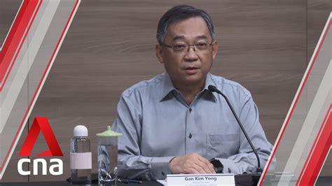 "Gan kim yong mp (born 9 february 1959) is a singaporean politician. ""Not true"" Singapore has reduced COVID-19 testing among ..."