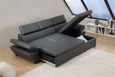 canapé d 39 angle à droite casanova gris anthracite
