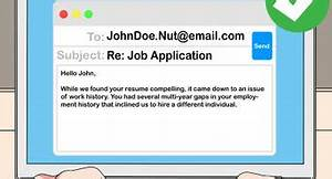 How To Respond To Rejection Email How To Write A Rejection Letter 11 Steps With Pictures