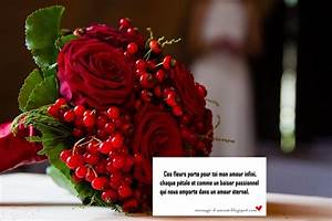 Offrir Un Bouquet De Fleurs : texte d 39 amour pour accompagner des fleurs message d 39 amour ~ Melissatoandfro.com Idées de Décoration