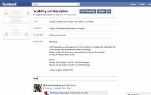 Sample wedding invitation on facebook wedding invitation for Wedding invitation text for facebook