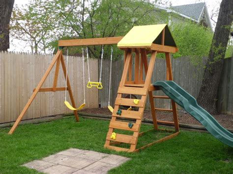 backyard swing set backyard swings for great times with family the