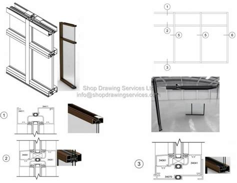 glazing archives shop drawing services ltd